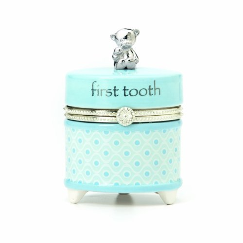 Babys First Tooth Box (Nat and Jules First Tooth Keepsake Box, Blue)