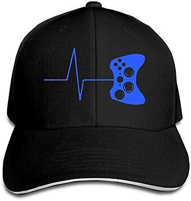 Men & Women Custom Heartbeat of A Gamer Gorra de béisbol Gorra de ...