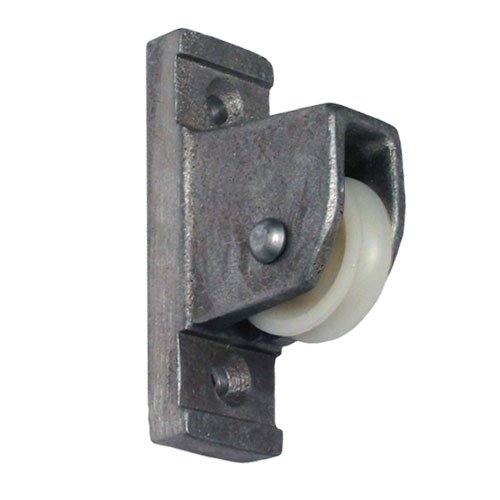 Pulley for Vertical Wall Mount Satin Finish (Flagpole Pulley)