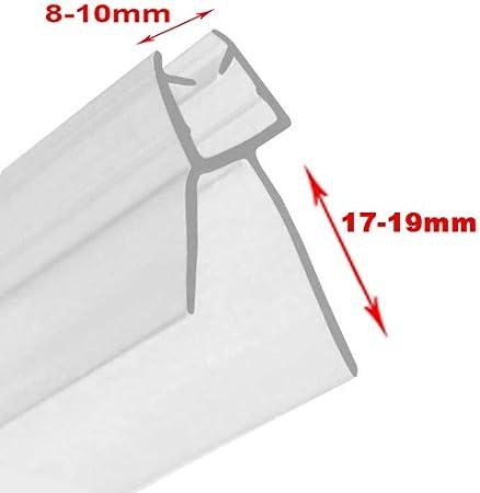 Junta para mampara de ducha para cristal de 6 - 8 mm de grosor con ...