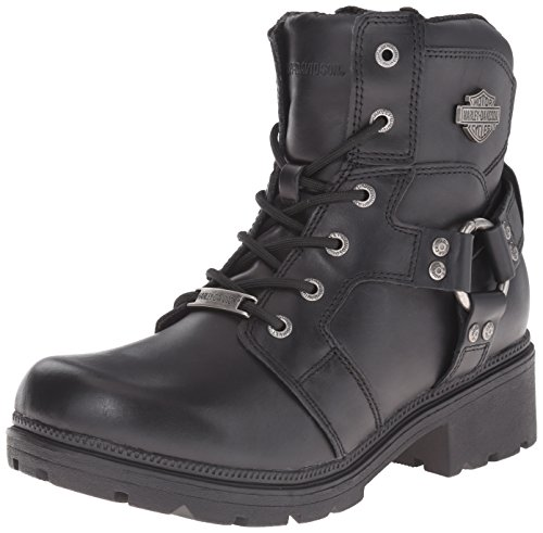 Harley Motorcycle Davidson Jocelyn Women's Boot Black qqwPTFx6r