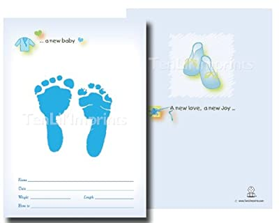 Tenlilimprints Birth Announcement Kit Blue from TenLil'Imprints