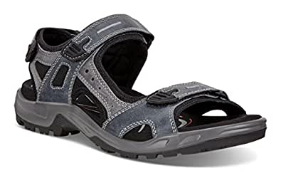 ECCO Men's Yucatan Outdoor Offroad Hiking Sandal, Marine/Marine, 40 EU/6-6.5 M US