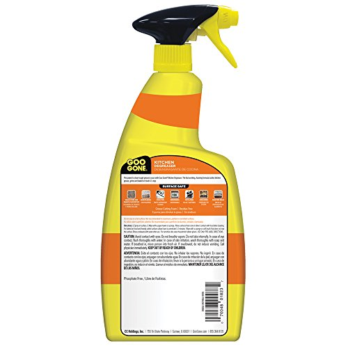 Goo Gone Kitchen Degreaser - Removes Kitchen Grease, Grime and Baked-on Food - 28 Fl. Oz. by Goo Gone (Image #2)