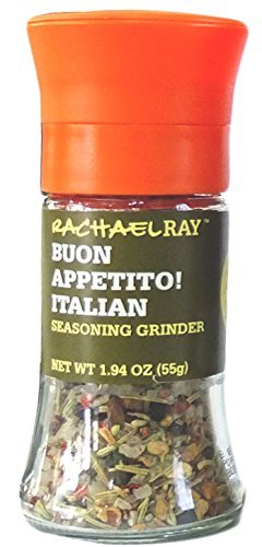 Rachael Ray Buon Appetito Italian Seasoning Grinder, 1.94-Ounce