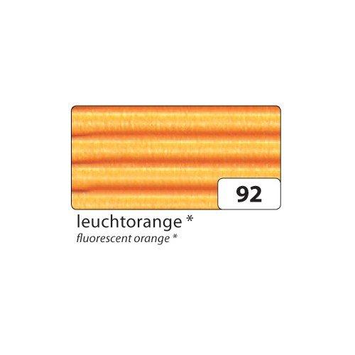 Folia 741092 Corrugated Cardboard 50 x 70 cm Bright orange (10 Sheets)
