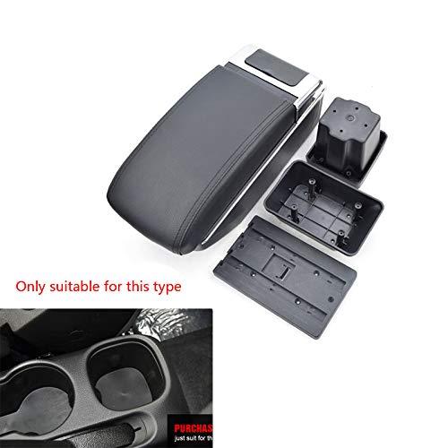 2010 Black Usb - PU Leather Auto Armrest Box Car Center Consoles Armrest Storage Box Automotive Interior Accessories Consolebox Double Storage USB Type Black For Chevrolet Trax Tracker 2014-2017 Onix 2010-2018