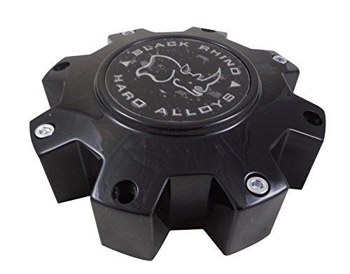 Black Rhino M-916 BK01 Wheel Center Cap Flat Black (1 CAP)