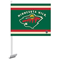 "NHL Minnesota Wild Car Flag, 11.75"" x 14"""