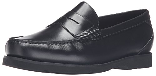 Rockport Men's Modern Prep Penny Loafer Black, 10.5 3E US, 10.5 XW US