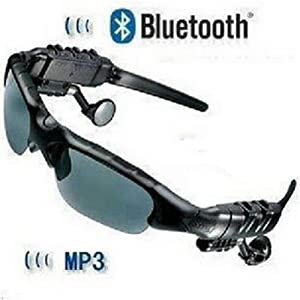 Ayangyang Music Player Sunglasses High Stereo Sports Mp3 Sunglasses WMA Sound Player in Ear Headphone 2gb Headset Mp3 Glasses with Blue Tooth