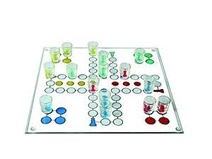 TRINKSPIEL Drinking Ludo incl. 16 Gläser