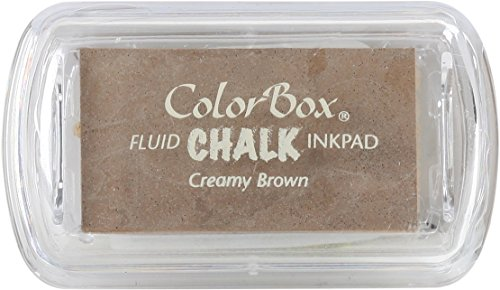 Lightweight Creamy (ColorBox Chalk Mini Ink Pad, Creamy Brown)