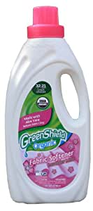 Greenshield Organic Fabric Softener, Lavender Mint, 32 Fluid Ounce (Pack of 2)