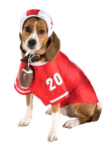 Rubie's Football Star Pet Costume, Large