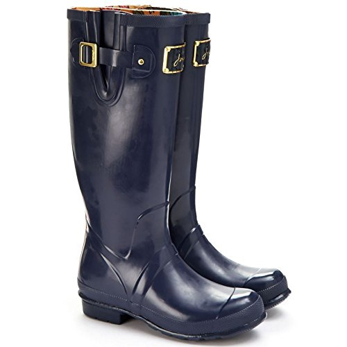 Wellington Rubber Pink Posh Premium Yard Waterproof Much Stable Ladies Boots O Joules 8PdYwP