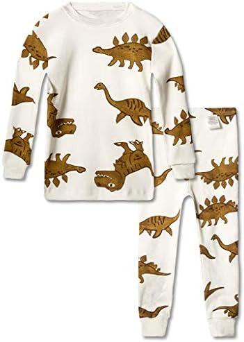 男の子 女の子 パジャマ 子供 スーツ 綿 長い袖 ナイトウェア 恐竜 ピンク豚 馬