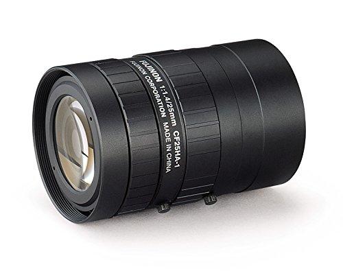 Fujinon CF25HA-1 1'' 25mm f/1.4 Manual Iris and Focus Industrial Lens for High Resolution C-Mount Machine Vision Cameras by Fujinon