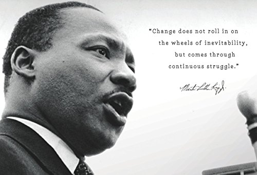Martin Luther King Jr. Mlk Change Quote Poster