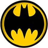 "Batman - Bat Signal (Yellow and Black) - 1.25"" Button"