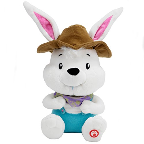 [Hallmark Plush Singing/Musical Country Easter Bunny] (White Rabbit Dance Costumes)