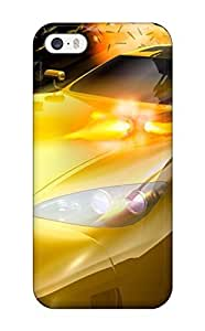 Hot Snap-on Yellow Car With Machine Guns Hard Cover Case/ Protective Case For Ipod Touch 4 Cover