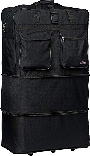 New 30'' Light-weight Expandable Wheeled Bag for Travel Holds 50 Lbs