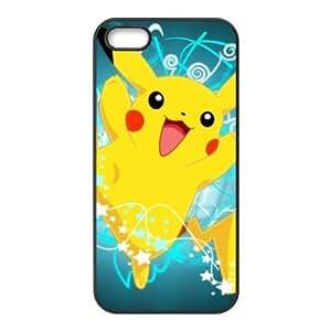 Case for iPhone 5s,Cover for iPhone 5s,Case for iPhone 5,Hard Case for iPhone 5s,Pokemon Pikachu Design TPU Hard Case for Apple iPhone 5 5S