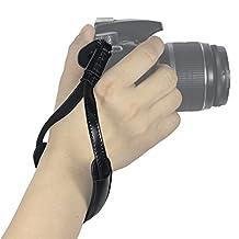WASSTEEL Hand Strap Camera Hand Wrist Strap Belt for Camera Leica Canon Nikon Pentax Olympus Sigma Sony Fujifilm Casio Panasonic DSLR Camcorder Camera Binocular Camera Strap