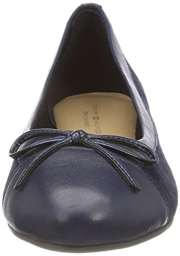 Basic Azul 406 Suede tommy Tommy Bailarinas Ballerina Navy Hilfiger Mujer Para Bgxqwf5C
