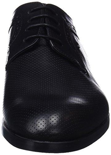 IV Cordones Black Hombre Kingsley Derby para Negro de Martinelli Zapatos P1aATyHq