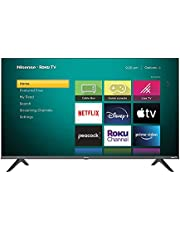 Hisense 32-Inch Class H4 Series LED Roku Smart TV with Google Assistant and Alexa Compatibility (32H4G, 2021 Model)