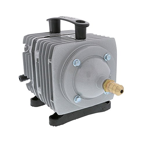 Bomba de aire comercial EcoPlus 1300 GPH (4920 LPH, 80W) con 8 válvulas | Acuario, pecera, fuente, estanque, hidroponia