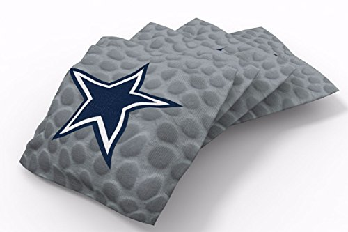 PROLINE 6x6 NFL Dallas Cowboys Cornhole Bean Bags - Pigskin Design (B)