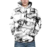 A-LING Mens Unisex 3D Printed Hoodies Hooded Sweatshirts Graphic Pocket Pullover