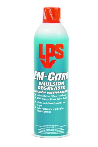 LPS 428-02820 EM-Citrus Emulsion Degreaser, 16 fl. oz. Aerosol Can by LPS ()