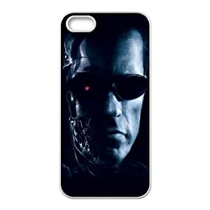 iPhone 5 5s Cell Phone Case White Terminator Mncrj