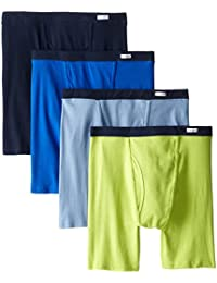 Men's No Ride Up Boxer Brief Multipacks, Colors may vary