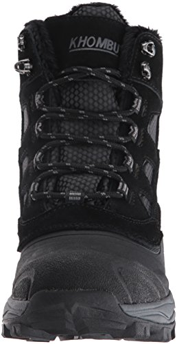 Khombu Men's Ranger Snow Boot Black KmqjYGBd