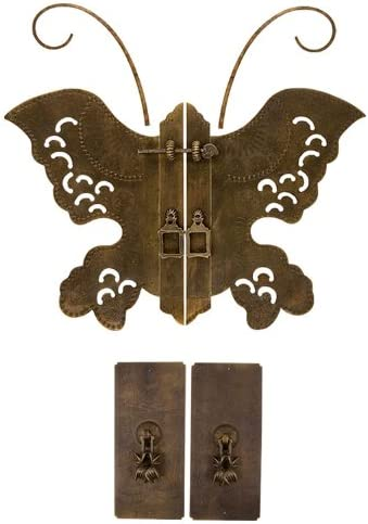Flapping Butterfly Face Plate Set w// Pulls Chinese Brass Hardware