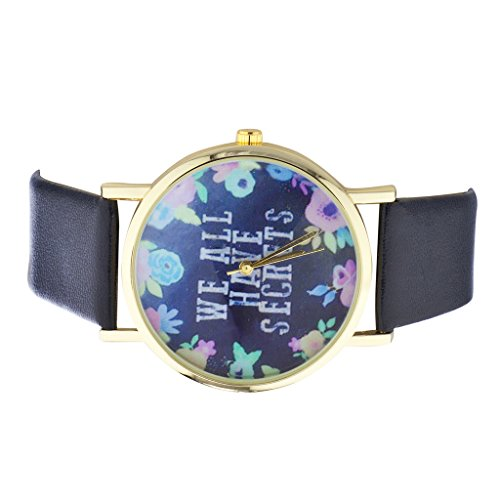 lux-accessories-gold-tone-navy-and-floral-we-all-have-secrets-watch-face-watch