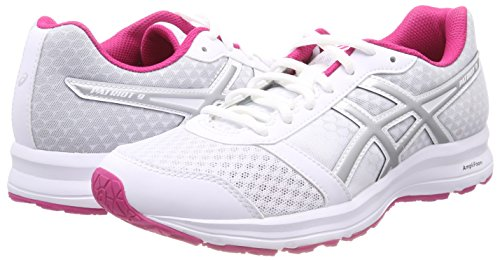 0193 Donna Asics Scarpe white silver fuchsia Patriot Running Purple 9 Bianco f1vHqR