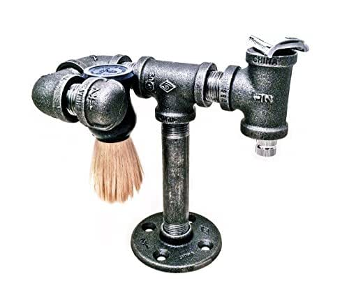 Amazon.com: Safety razor stand and brush holder - shaving