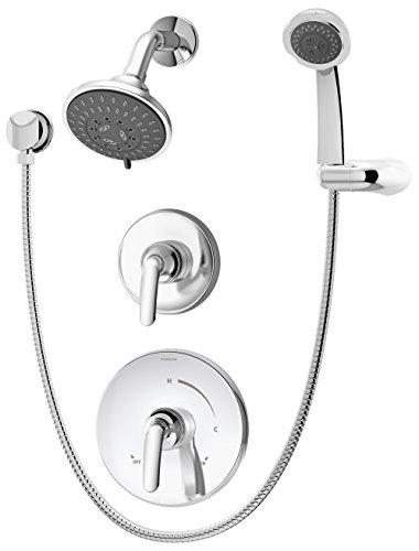 - Symmons 5505 Elm Chrome Shower System with Hand Spray