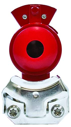 Tectran 1012E Powder Coated Gladhand, Emergency Supreme-Red, Pack of 5