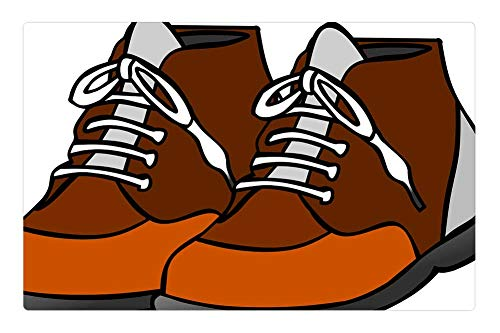 (Tree26 Indoor Floor Rug/Mat (23.6 x 15.7 Inch) - Shoes Clip Art Loop Graphic Fashion Set Animated)
