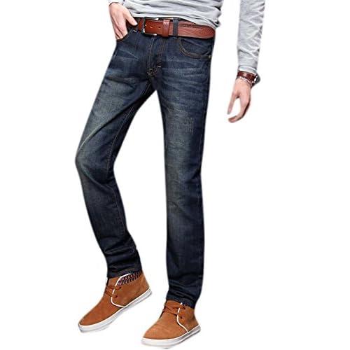 Sarriben Men's Stylish Ripped Denim Pants Casual Skinny Leg Jeans ...