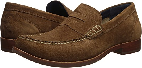 Cole Haan Men's Pinch Grand Casual Penny Loafer, Bourbon Suede, 8 Medium US