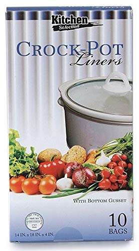 Crock Pot Liners, Easy Clean Up Cooking Bags, Slow Cooker Liner Large, 30 Count