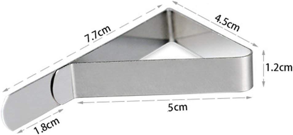 Juego de 12 pinzas para mantel de acero inoxidable con clip para cubrir la mesa: Amazon.es: Amazon.es
